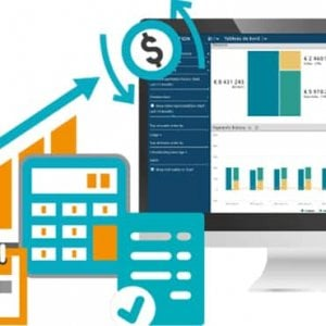 customer portal to download invoices and pay them online